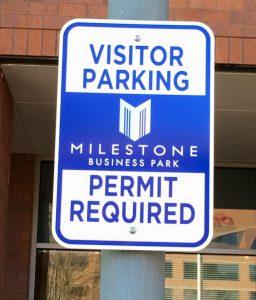 custom safety metal signs